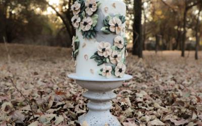 Vanilla Blossom Cake Artistry